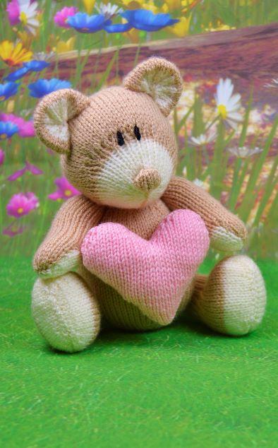 bear knitting pattern