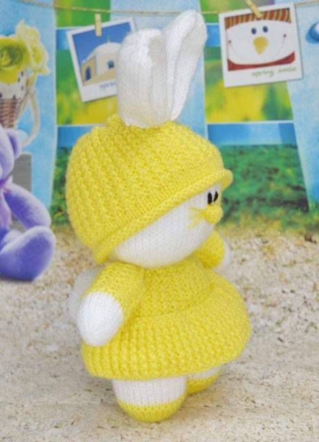 easter rabbit knitting pattern