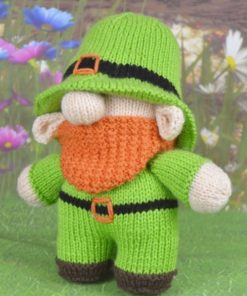knitted leprechaun pattern