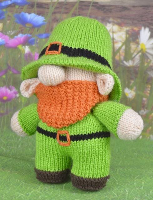 knitted leprechaun pattern