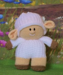 lamb knitting pattern
