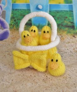 ducks in a basket knitting pattern
