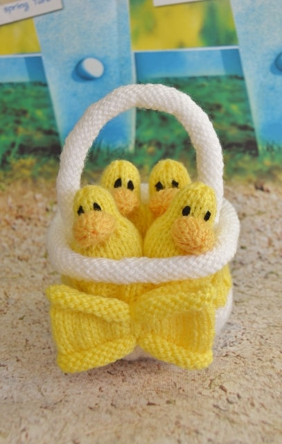 duck knitting pattern