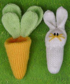 rabbit in carrot bag