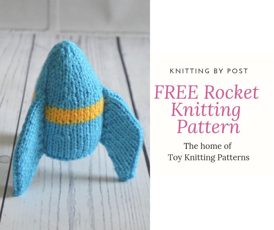 549b253d339a FREE Rocket Knitting Pattern - Knitting by Post The Home of Toy ...