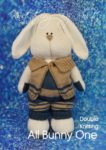 KBP-314 - All Bunny One Knitting Pattern Knitted Soft Toy