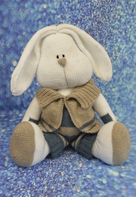 bunny toy knitting pattern