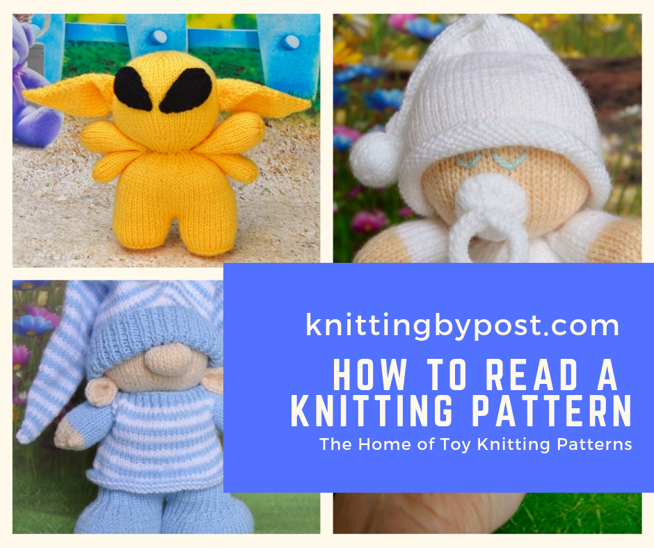 How to Read a Knitting Pattern - Knitting by Post