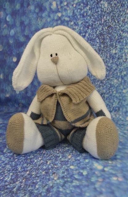 rabbit toy knitting pattern