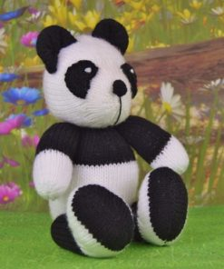 panda knitting pattern