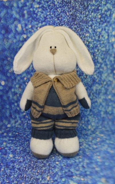 rabbits knitting pattern