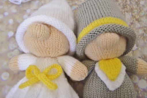 wedding toy knitting pattern