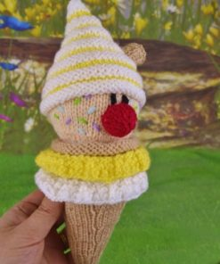 ice cream knitting pattern