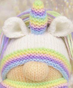 knitted unicorn boy
