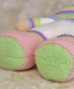 knitted unicorn feet