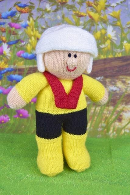 lifeboat man toy knitting pattern