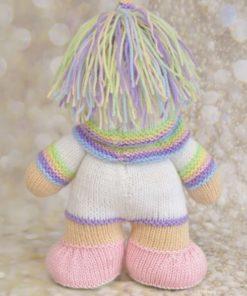 unicorn knitted back