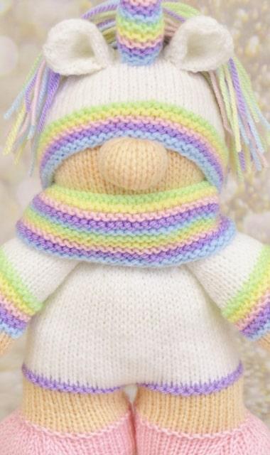 unicorn toy pattern