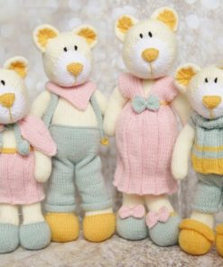 bearwick bear family knitting pattern