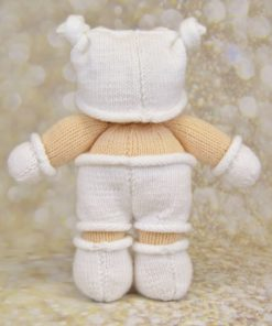 baby knitting pattern back