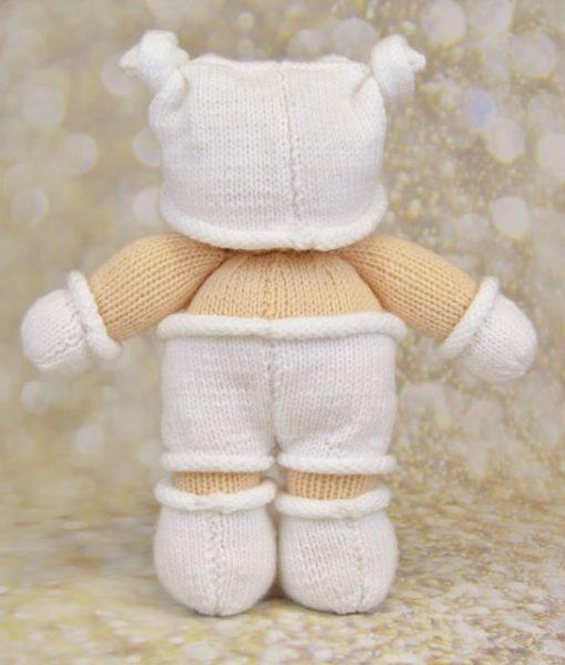 baby knitting pattern back
