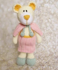 knitted bear toy pattern