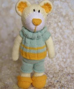boy bear knitting pattern
