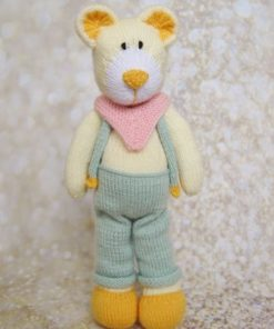 dad bear toy knitting pattern