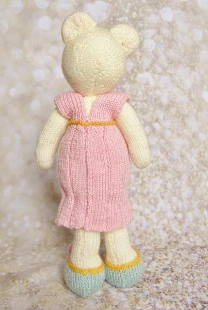 knitted mum bear