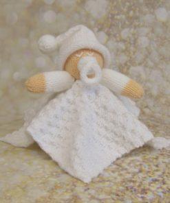 baby comforter knitting pattern