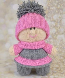 toy doll with hat knitting pattern