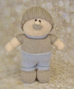 grandad toy knitting pattern