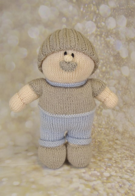 grandad toy knitting pattern