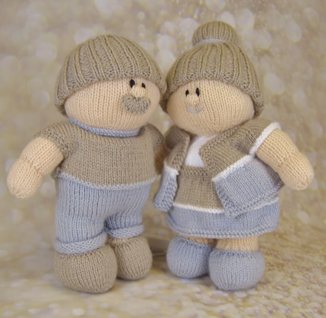 grandma and grandad toy knitting patterns