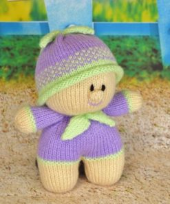knitted toy doll pattern