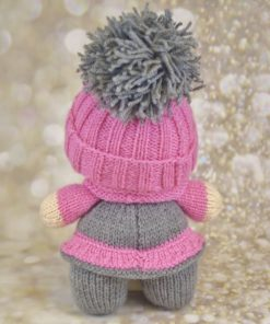 knitted doll with hat knitting pattern