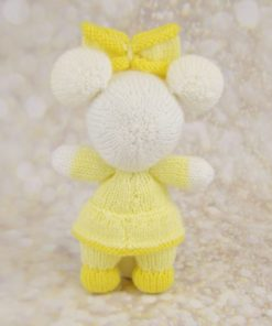 mouse knitting pattern back