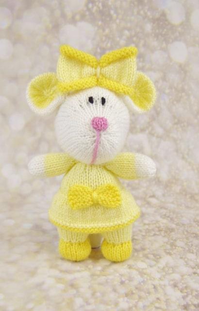 mouse knitting pattern