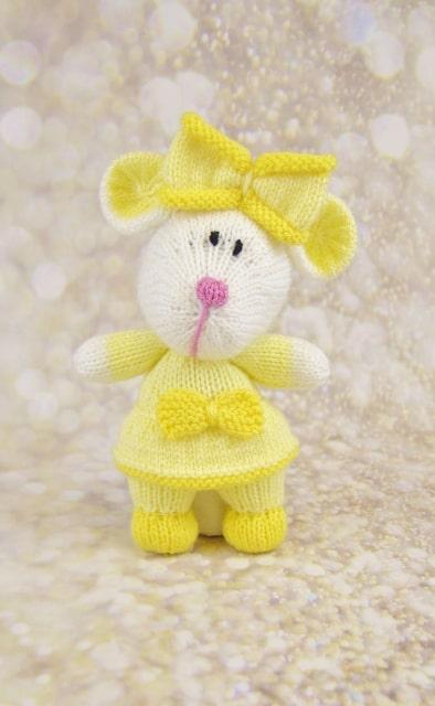 mouse knitting patterns