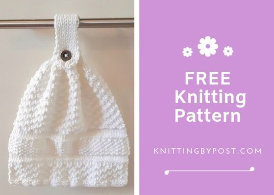 FREE WashCloth Dishcloth Facecloth knitting Pattern
