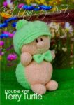 KBP-300 - Turtle Knitting Pattern Knitted Soft Toy