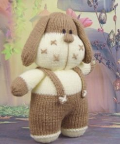 bruce the dog knitting pattern