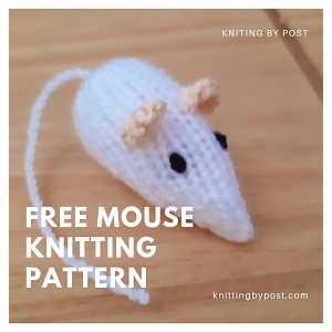 FREE Mouse knitting pattern