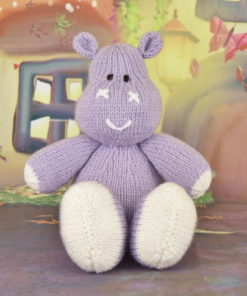 hippo toy knitting pattern