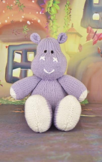 hippo knitting pattern