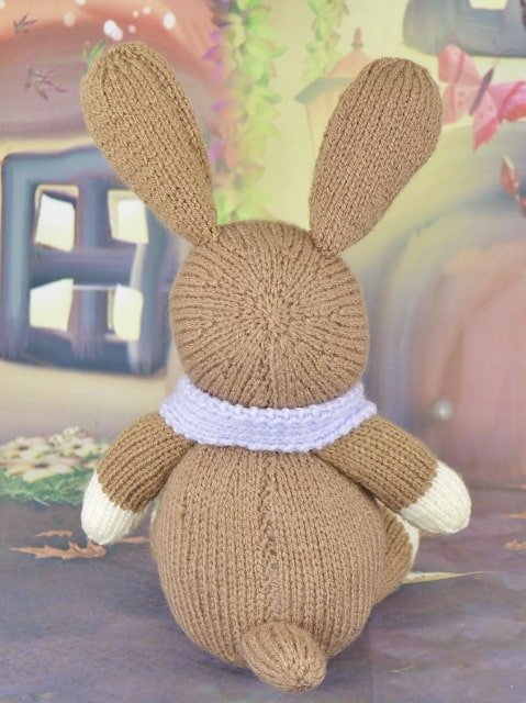 knitted donkey back