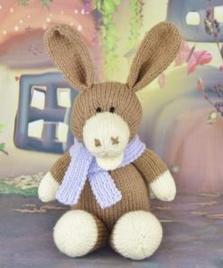 Toy knitted donkey pattern