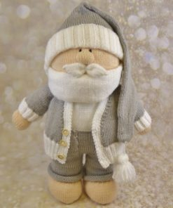 large santa knitting pattern alternative christmas character
