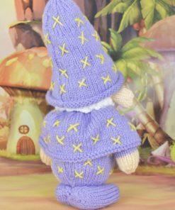 knitted wizard knitting pattern
