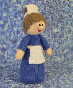 Toy nurse knitting pattern